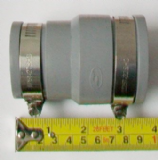 Rubber Waste Pipe Connector 32mm-40mm x 40mm-50mm - 54001541